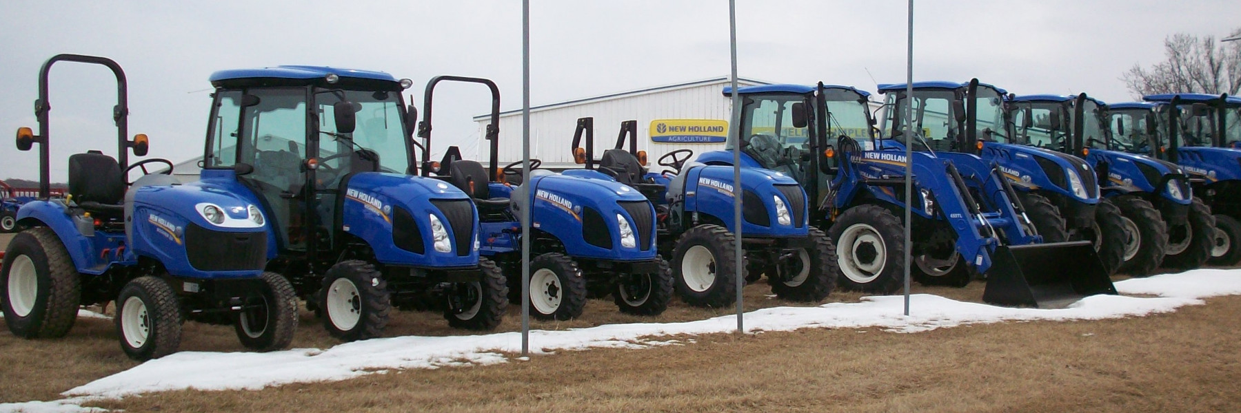 New Holland Tractors | Melrose Implement